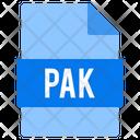 Pak File Icon