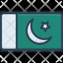 Pakistan Lahore Country Icon