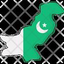 Pakistani Map Icon