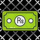 Pakistani Rupee Money Cash Icon
