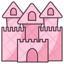Castle Battle Fort Historical Building Icon
