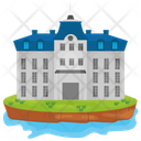 Palace Mansion Luxury House Icon