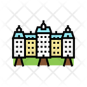 Palace House Color Icon