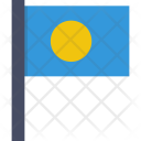Palau National Country Icon