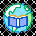 Paleogeography Science Education Icon
