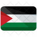 Palestine Flag Country Icon