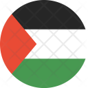 Palestine Flag World Icon