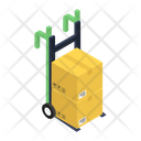 Pallet Cart Luggage Cart Icon
