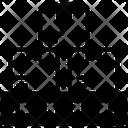 Pallet Parcels Packages Icon