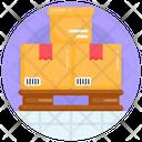Pallet Cargo Shipment Icon
