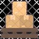 Pallet Warehouse Stocks Icon