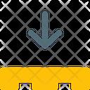 Pallet Down Pallet Box Boxes Icon
