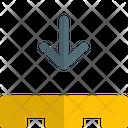 Pallet Down Icon