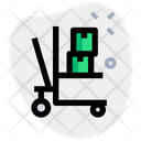 Pallet Stacker Package Dolly Cargo Dolly Icon