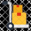 Pallet Truck Pushcart Handcart Icon