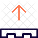 Pallet Up Pallet Box Boxes Icon