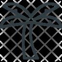Palm Tree Island Icon
