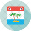 Palm Tree Vacations Icon