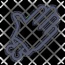 Palm Hand Bone Icon