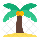 Palm Coconut Tree Icon