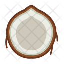 Palm Fruit Coconut Icon