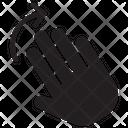 Palm Hand Icon