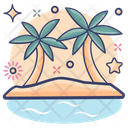 Beach Beachside Seaside Icon