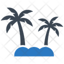 Holiday Island Palm Icon