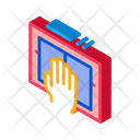 Hand Scan Finger Icon