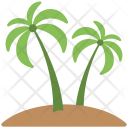 Palm Trees Soil Icon