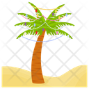 Christmas Tree Palm Tree Palm Icon