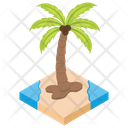 Palm Tree Tropical Tree Coconut Tree Icon