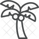 Coconut Tree Beach Tree Icon