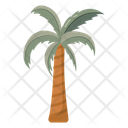 Palm Tree Coconut Tree Island Tree Icon