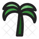 Date Palm Tree Ramadan Icon