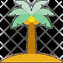 Summer Island Beach Icon