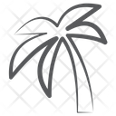 Date Palm Palm Tree Tropical Tree Icon