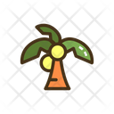 Palm Tree Coconut Tree Beach Tree Icon