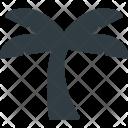 Tree Palm Island Icon