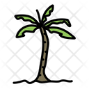 Palm Tree Tree Green Icon