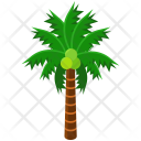 Palm Tree Greenery Icon