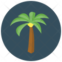 Palm Tree Beach Icon