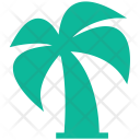 Nature Palm Tree Icon