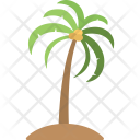 Palm Tree Tropical Icon