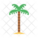 Palm Tree Vacation Icon
