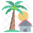 Palm Tree View Icon