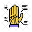 Palmistry Hand Palmistry Hand Reading Icon