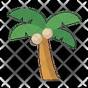 Island Palm Tree Icon