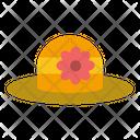 Beach Hat Cap Icon
