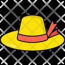 Pamela Hat Woman Hat Hat Icon